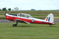 G-BWNK @ EGNW - WD390 DHC-1 Chipmunk at Wickenby on 2009 Wings and Wheel Show