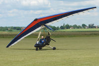 G-MVCR @ EGNW - Pegasus Flexwing at Wickenby on 2009 Wings and Wheel Show