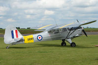 G-ASOI @ EGNW - WJ404 Beagle A61 at Wickenby on 2009 Wings and Wheel Show