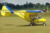 G-COUZ @ EGNW - Microlight at Wickenby on 2009 Wings and Wheel Show