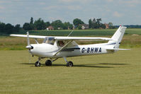 G-BHWA @ EGNW - Cessna F152 at Wickenby on 2009 Wings and Wheel Show