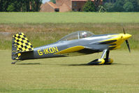 G-IKON @ EGNW - Vans RV-4 at Wickenby on 2009 Wings and Wheel Show