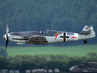 D-FWME @ LOXZ - Me 109 at Airpower09 - by P. Radosta - www.austrianwings.info