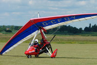 G-CFDY @ EGNW - Microlight at Wickenby on 2009 Wings and Wheel Show