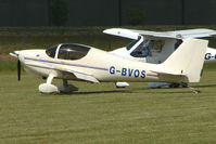 G-BVOS @ EGNW - Europa at Wickenby on 2009 Wings and Wheel Show