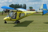G-OMAL @ EGNW - Thruster Microlight at Wickenby on 2009 Wings and Wheel Show