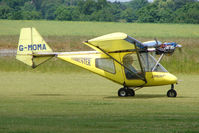 G-MOMA @ EGNW - Thruster Microlight at Wickenby on 2009 Wings and Wheel Show