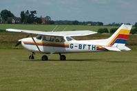 G-BFTH @ EGNW - Cessna F172N  at Wickenby on 2009 Wings and Wheel Show