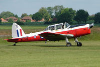 G-BYHL @ EGNW - WG308  DHC-1 Chipmunk at Wickenby on 2009 Wings and Wheel Show