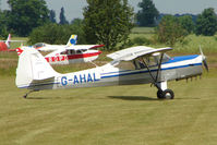 G-AHAL @ EGNW - Auster J1N at Wickenby on 2009 Wings and Wheel Show