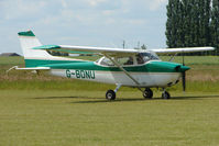 G-BDNU @ EGNW - Cessna F172M  at Wickenby on 2009 Wings and Wheel Show