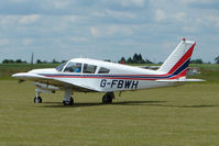 G-FBWH @ EGNW - Piper at Wickenby on 2009 Wings and Wheel Show