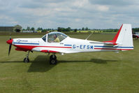 G-EFSM @ EGNW - Slingsby T67 at Wickenby on 2009 Wings and Wheel Show