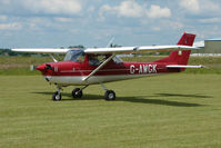 G-AWGK @ EGNW - Cessna F150H at Wickenby on 2009 Wings and Wheel Show