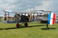 G-BFVH @ EGNW - Replica DH2 at Wickenby on 2009 Wings and Wheel Show
