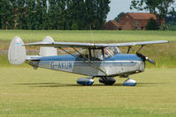 G-AKUW @ EGNW - Chrislea CH3 Super Ace at Wickenby on 2009 Wings and Wheel Show