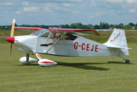G-CEJE @ EGNW - Wittman W10 Tailwind at Wickenby on 2009 Wings and Wheel Show