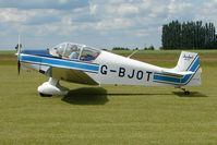G-BJOT @ EGNW - Jodel D117 at Wickenby on 2009 Wings and Wheel Show