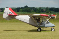 G-CDDH @ EGNW - Microlight at Wickenby on 2009 Wings and Wheel Show