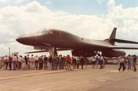 86-0140 @ EGVA - B-1B Lancer of 384 Bomb Wing at the 1991 Intnl Air Tattoo at RAF Fairford. - by Peter Nicholson