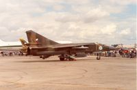 4644 @ EGVA - MiG-23ML Flogger B of 11 Fighter Regiment of the Czech Air Force at the 1991 Intnl Air Tattoo at RAF Fairford. - by Peter Nicholson