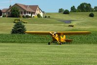 N6234H @ 2D7 - Father's Day fly-in at Beach City, Ohio - by Bob Simmermon