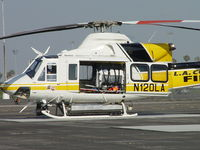 N120LA @ POC - Awaiting patients arrival - by Helicopterfriend
