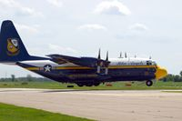 164763 @ DVN - Quad Cities Air Show - by Glenn E. Chatfield