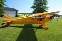 N70429 @ 2D7 - Father's Day fly-in at Beach City, Ohio - by Bob Simmermon