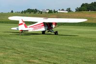 N88588 @ 2D7 - Departing Beach City, Ohio Father's Day fly-in. - by Bob Simmermon