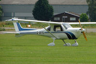 G-BYYL @ EGBS - at Shobdon on the Day of the 2009 LAA Regional Strut Fly-in