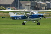 G-BCVH @ EGBS - Cessna 150L at Shobdon on the Day of the 2009 LAA Regional Strut Fly-in