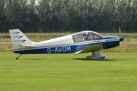 G-AVOM @ EGBS - CEA DR221 at Shobdon on the Day of the 2009 LAA Regional Strut Fly-in