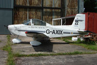 G-AXIX @ EGBS - Glos Airtourer at Shobdon on the Day of the 2009 LAA Regional Strut Fly-in
