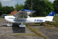 G-BFMX @ EGBS - Cessna 172N at Shobdon on the Day of the 2009 LAA Regional Strut Fly-in