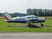 G-ATDA @ EGBS - Piper at Shobdon on the Day of the 2009 LAA Regional Strut Fly-in - by Terry Fletcher