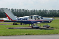 G-DAND @ EGBS - Socata TB10 at Shobdon on the Day of the 2009 LAA Regional Strut Fly-in - by Terry Fletcher