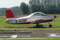 G-AZRP @ EGBS - Glos Airtourer at Shobdon on the Day of the 2009 LAA Regional Strut Fly-in