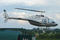 G-REMH @ EGBM - Bell 206B in for re-fuelling at Tatenhill