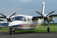 N60BM @ EGBM - Aero Commander 690A at Tatenhill , UK