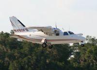 N460FS @ LAL - Mitsubishi MU-2B