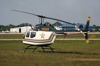 N911FH @ LAL - Polk County Sheriff Bell 206