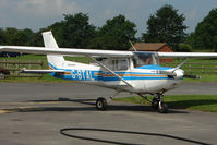 G-BTAL @ EGBS - Cessna 152 at Shobdon on the Day of the 2009 LAA Regional Strut Fly-in