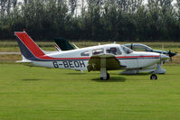 G-BEOH @ EGBS - Piper at Shobdon on the Day of the 2009 LAA Regional Strut Fly-in