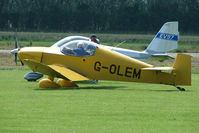 G-OLEM @ EGBS - Jodel D18 at Shobdon on the Day of the 2009 LAA Regional Strut Fly-in