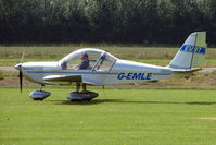 G-EMLE @ EGBS - Eurostar at Shobdon on the Day of the 2009 LAA Regional Strut Fly-in