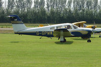 G-GPMW @ EGBS - Piper at Shobdon on the Day of the 2009 LAA Regional Strut Fly-in