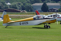 G-AYZS @ EGBS - D62B Condor at Shobdon on the Day of the 2009 LAA Regional Strut Fly-in