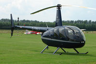 G-TOLI @ EGBS - R44 II at Shobdon on the Day of the 2009 LAA Regional Strut Fly-in