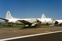 163289 @ EGDM - P-3C Orion of Patrol Squadron VP-62 at the 1992 Air Tattoo Intnl at Boscombe Down. - by Peter Nicholson
